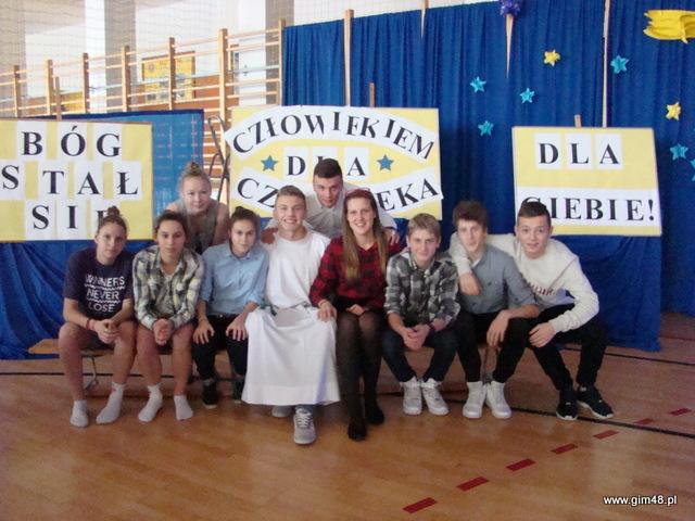 Jasełka w naszym gimnazjum