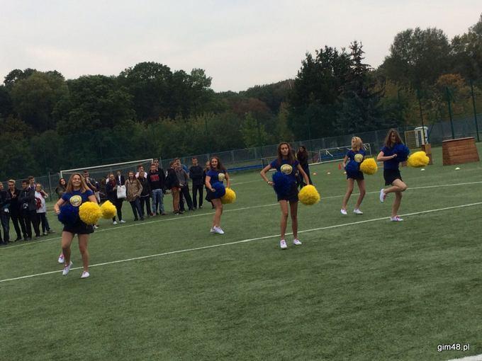 Cheerleaderki w Konarskim