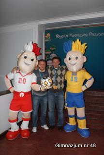 Prezentacja maskotek EURO 2012