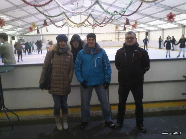 Zajęcia na lodowisku