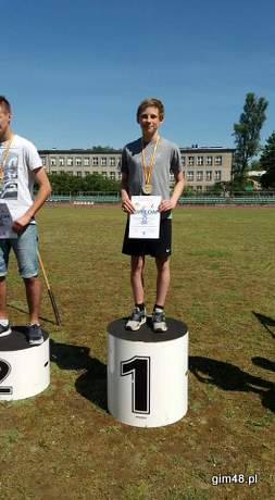 Lekkoatletyczny Sukces Gimnazjum nr 48