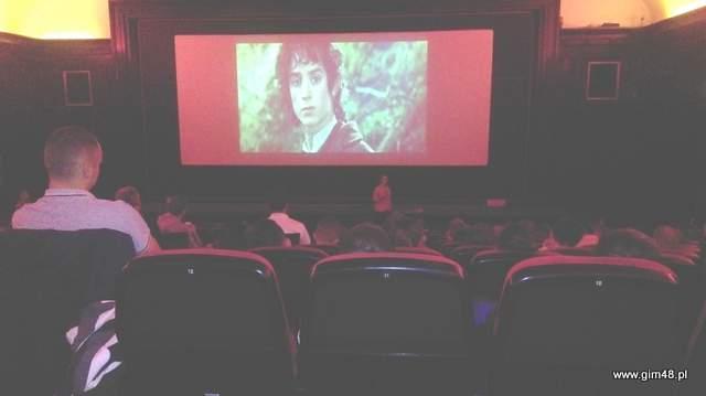 """Multimedialna lekcja w kinie """"Język filmu"""""""