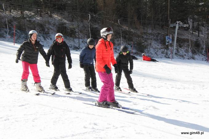 Obóz narciarsko – snowboardowy w Sromowcach Wyżnych 2016 r.