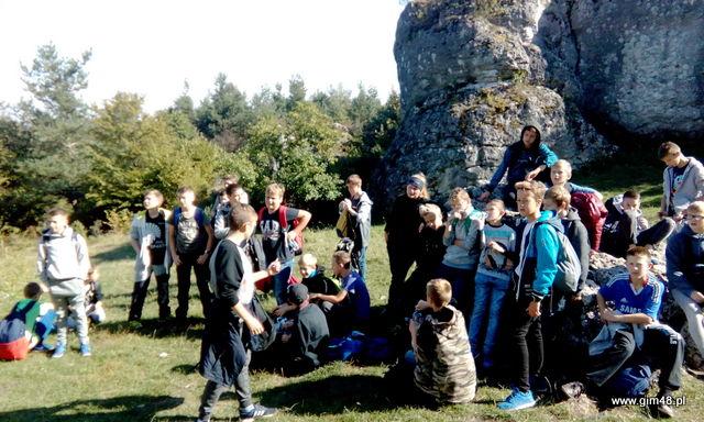 Obóz integracyjny w Podlesicach