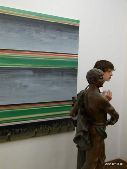 Z wizytą w galerii sztuki
