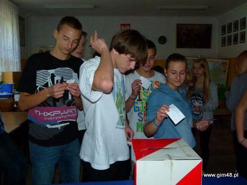 Wybory na Przewodniczącego Samorządu Szkolnego