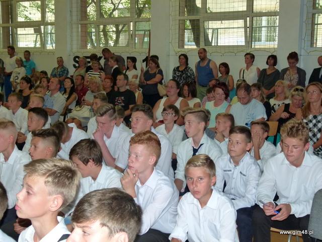 Rozpoczęcie roku szkolnego 2015/2016