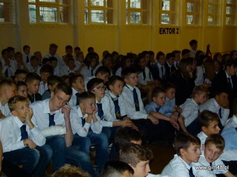 Święto Odzyskania Niepodległości w naszym gimnazjum