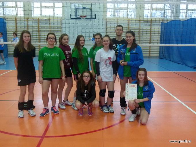 One Day More for Volleyball w Gimnazjum nr 48 im. Jana Pawła II