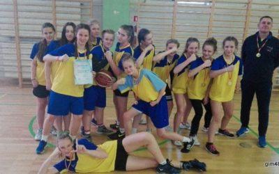 Mistrzostwa Dzielnicy w Koszykówce dziewcząt ichłopców