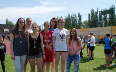 Warszawska Olimpiada Młodzieży w Lekkoatletyce Dziewcząt iChłopców