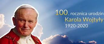 Szkolne obchody 100 rocznicy urodzin Jana Pawła II Patrona naszej szkoły.