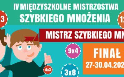 Ogólnopolskie Mistrzostwa Szybkiego Mnożenia 2020