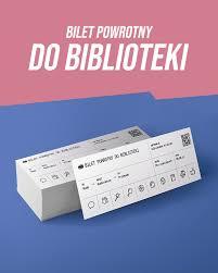 Konkurs czytelniczy BILET POWROTNY DO BIBLIOTEKI