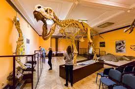 Lekcja muzealna w klasie 2c w Muzeum Ewolucji w Pałacu Kultury i Nauki